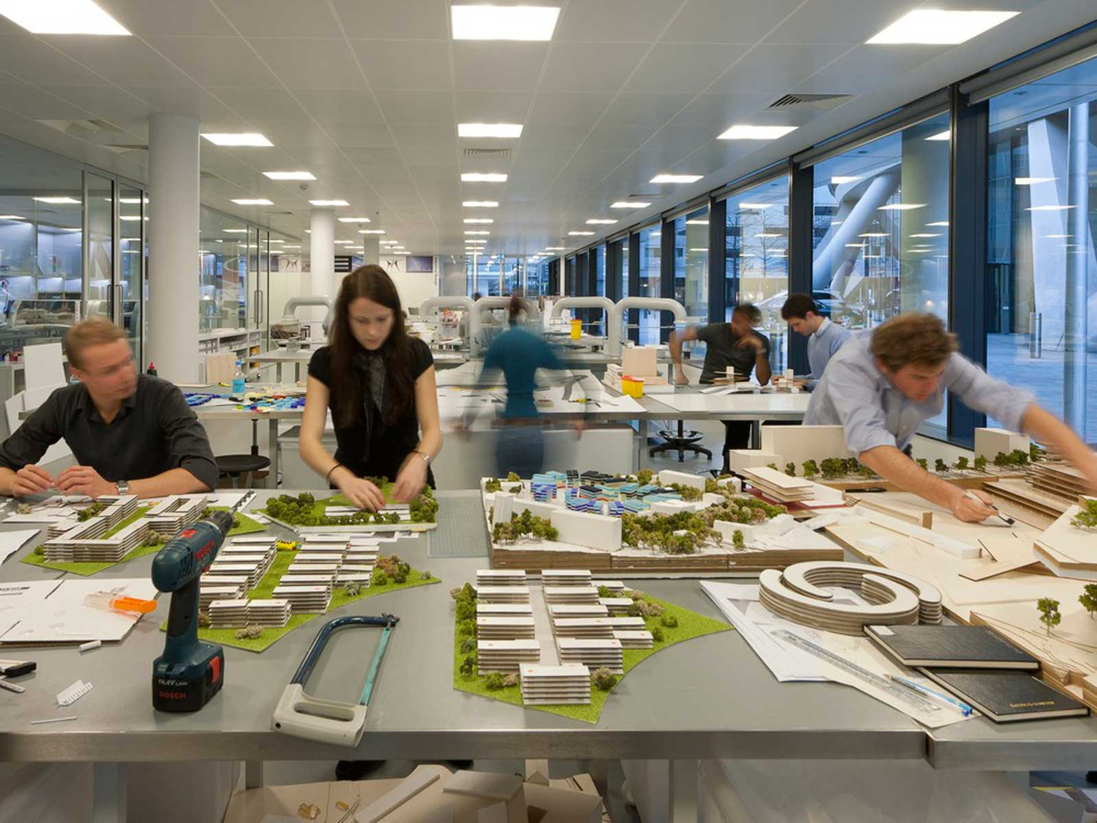 Foster partners for Architecture agency