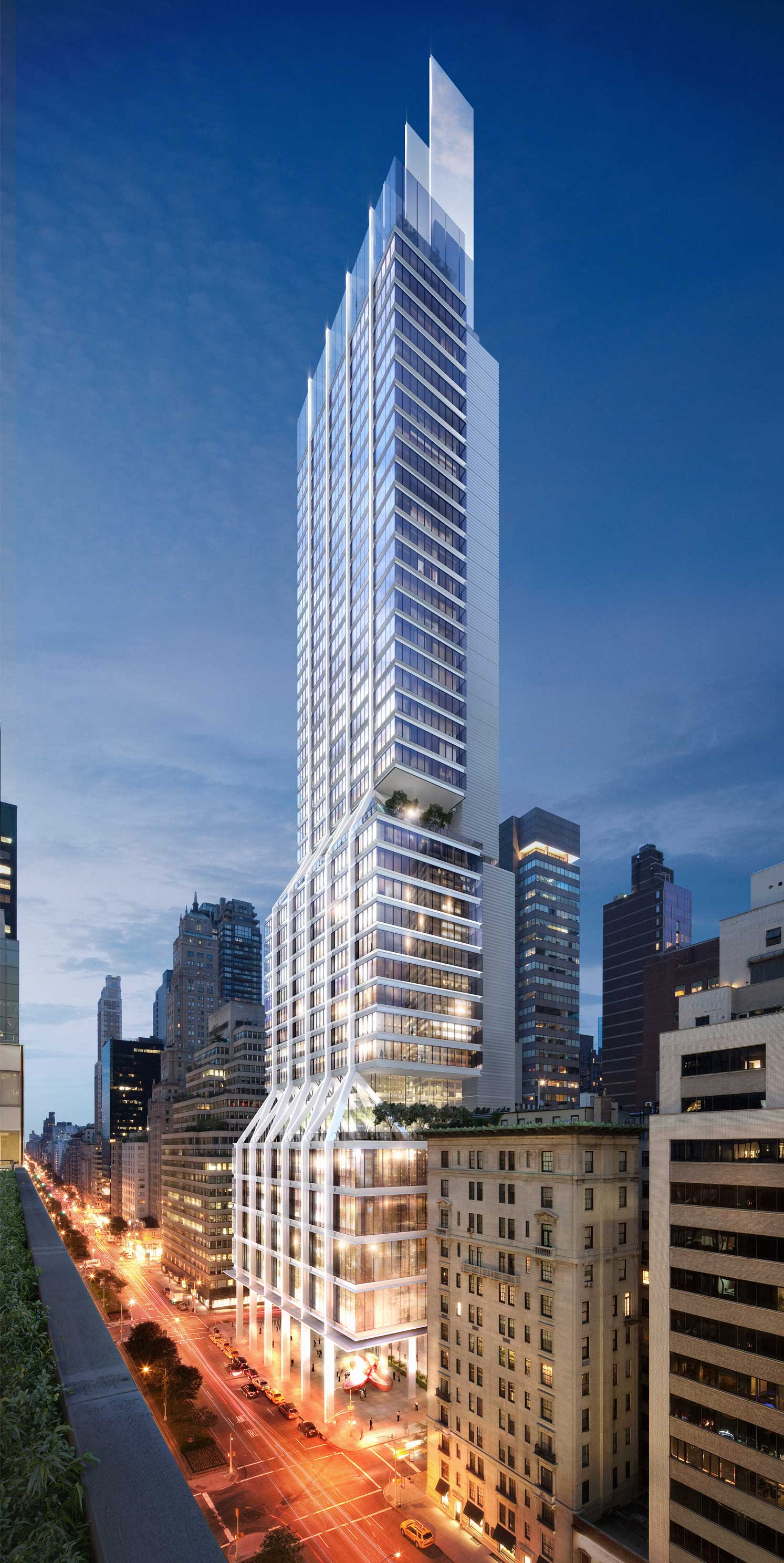 425 Park Avenue Projects Foster Partners