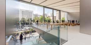 Apple Union Square revealed in San Francisco