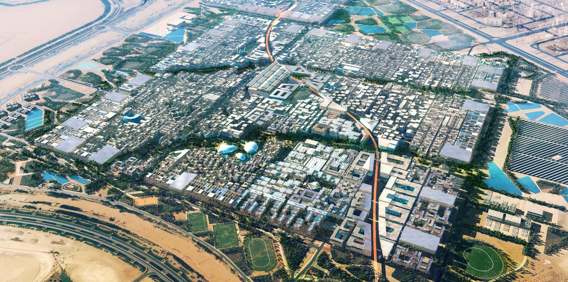 Masdar City   Architecture Projects   Foster + Partners