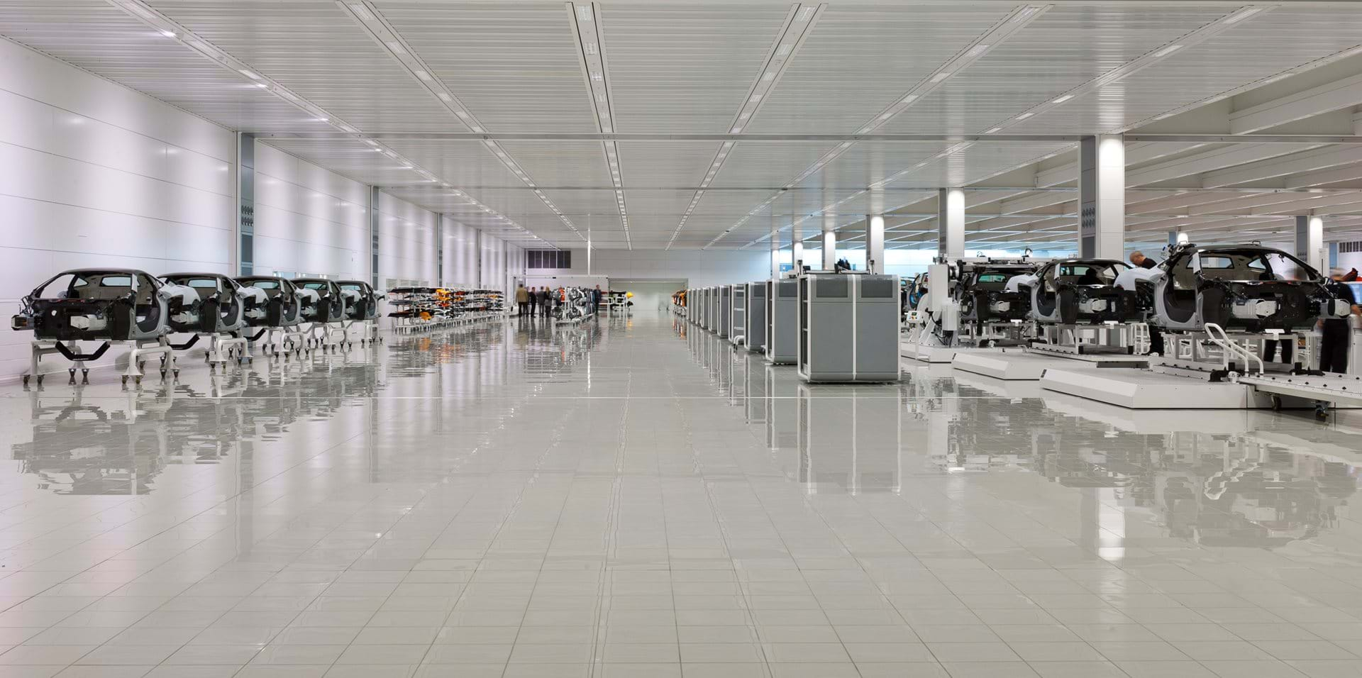Mclaren Production Centre Projects Foster Partners