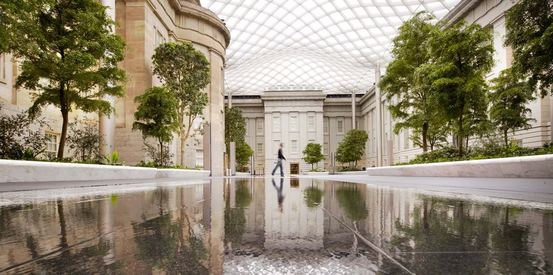Smithsonian Institution Courtyard Foster Partners