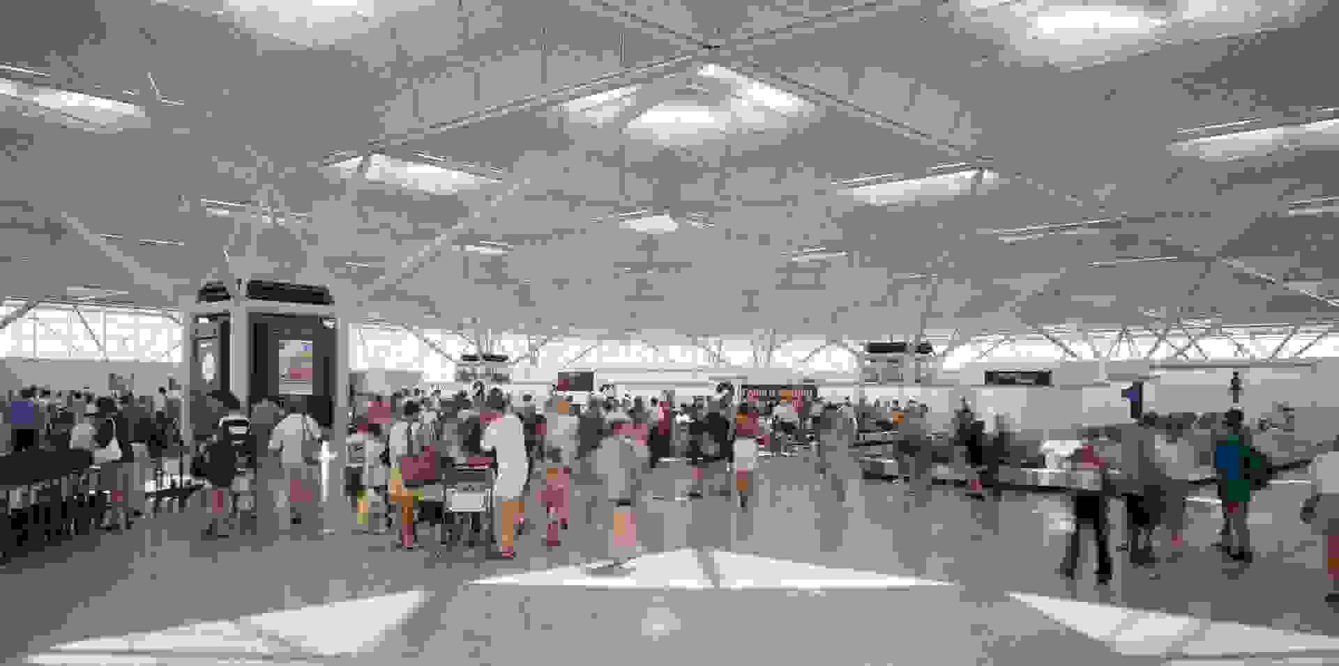 Stansted Airport Architecture Projects Foster Partners