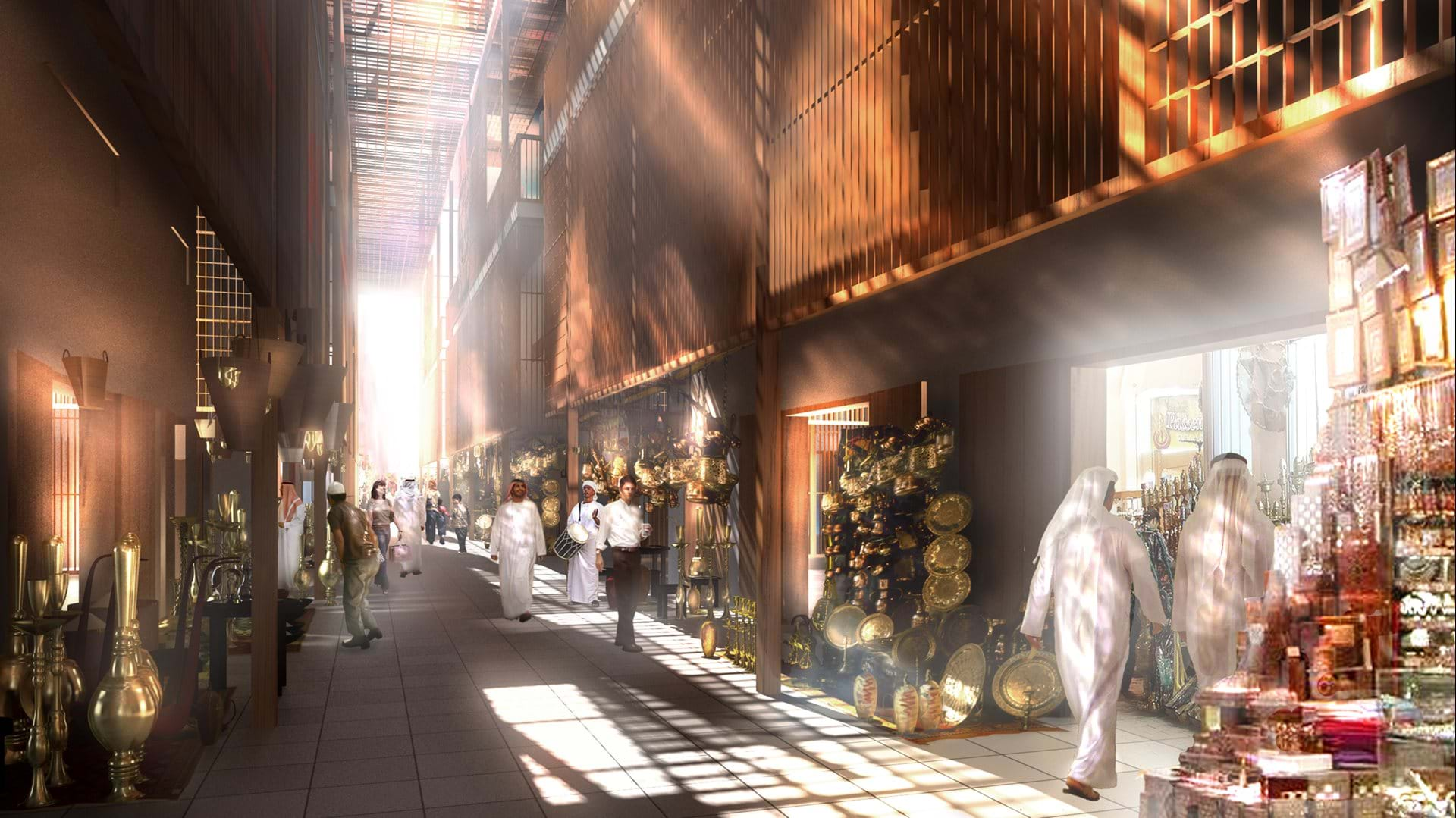 Abu Dhabi Central Market Foster Partners