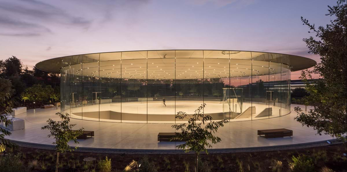 The Steve Jobs Theater At Apple Park Foster Partners