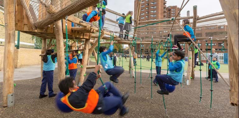 Ashburnham Community School gets a state-of-the-art children's playground