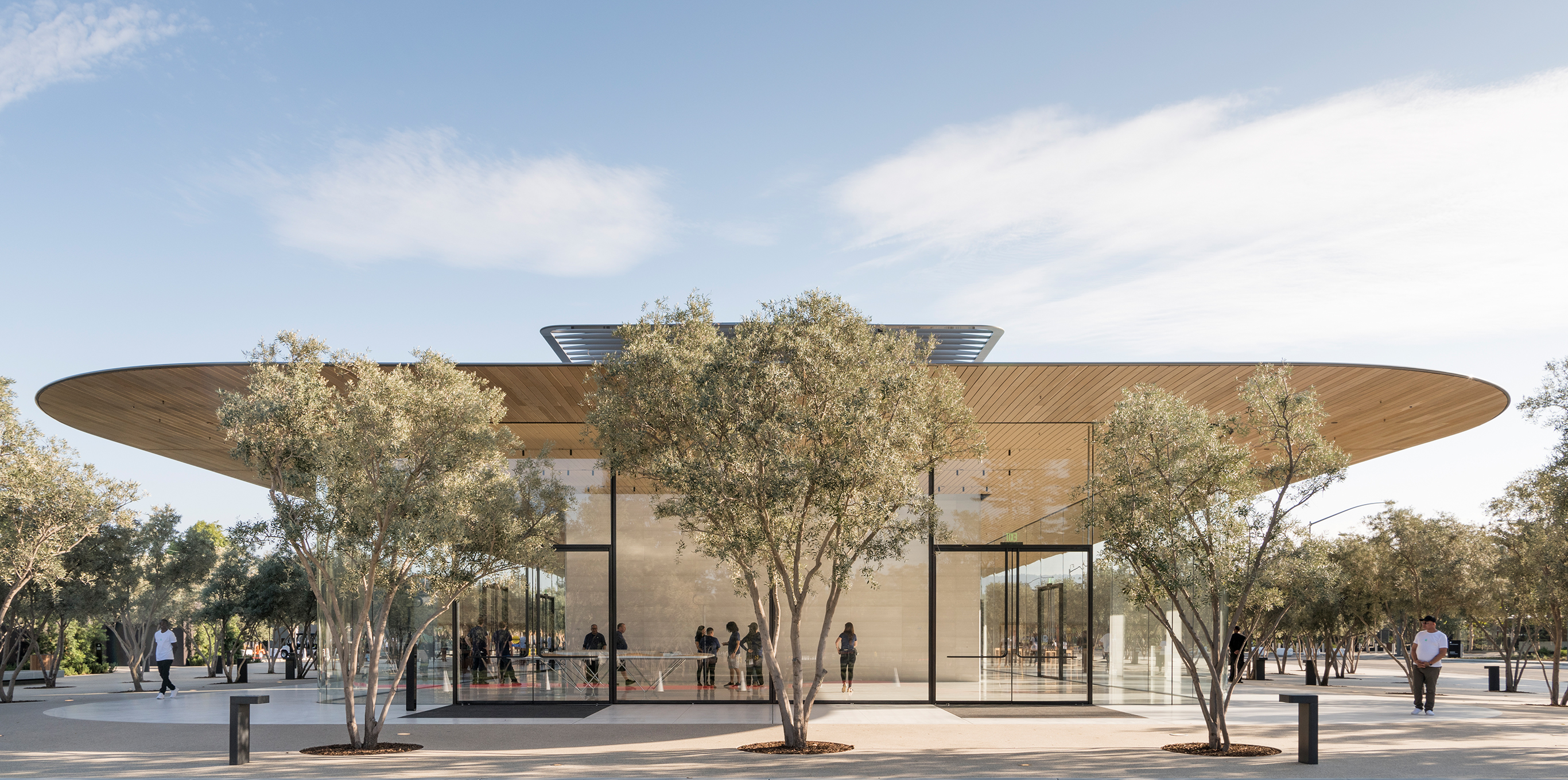 Car cell phone blocker   Apple Park Visitor Center opens to the public