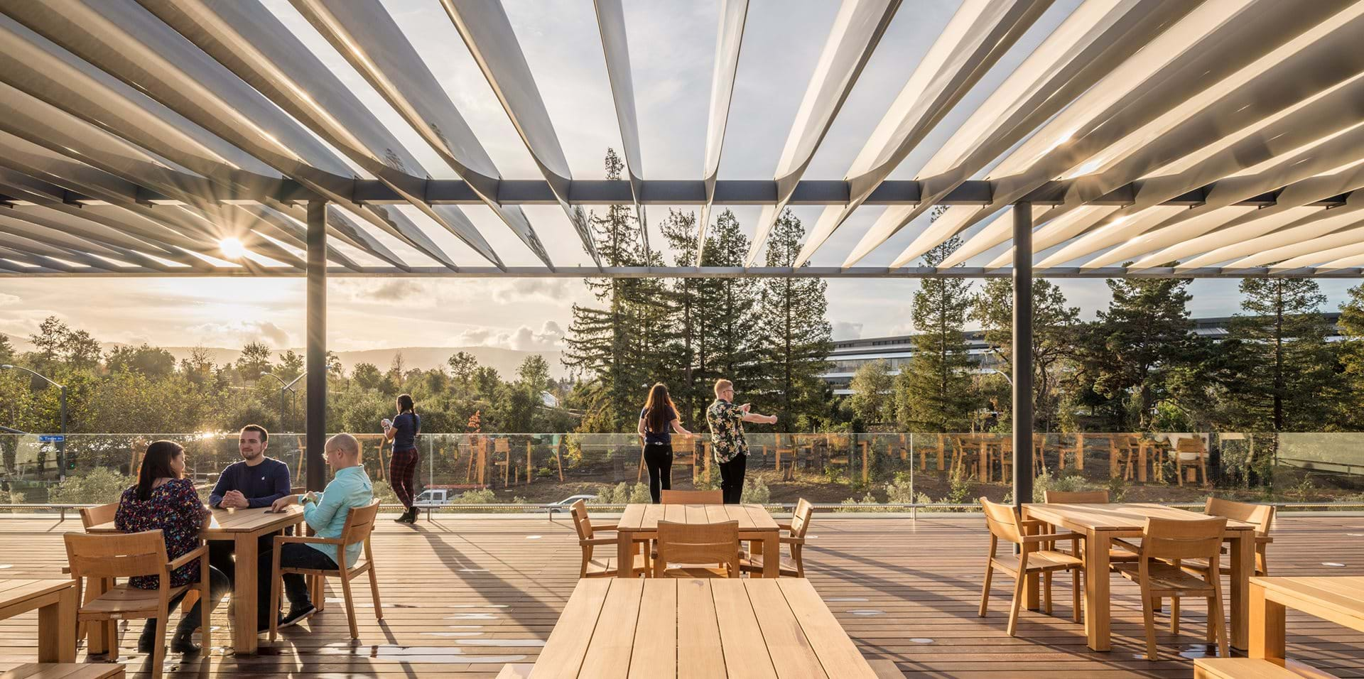 Apple Park Visitor Center Culture Foster Partners