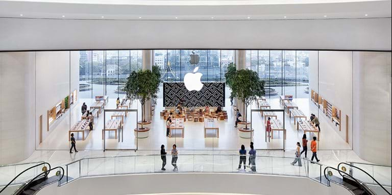 Apple Iconsiam – first Apple store in Thailand opens
