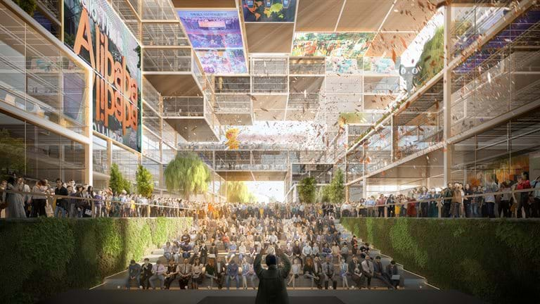 Foster + Partners wins competition to design Alibaba's new offices in Shangha