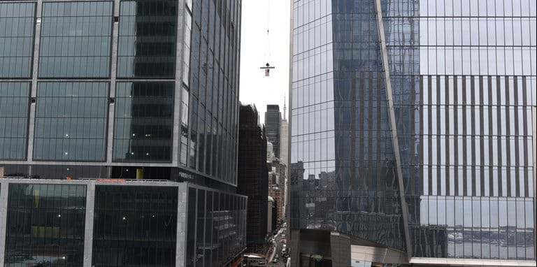 50 Hudson Yards tops out
